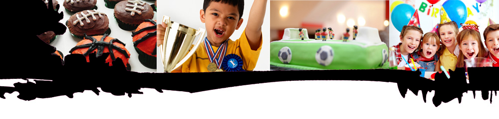 Futsal Football Sports Holiday Birthday Party for Children